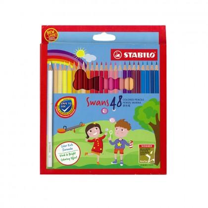 Stabilo Swan Colored Pencil (48pcs) Long