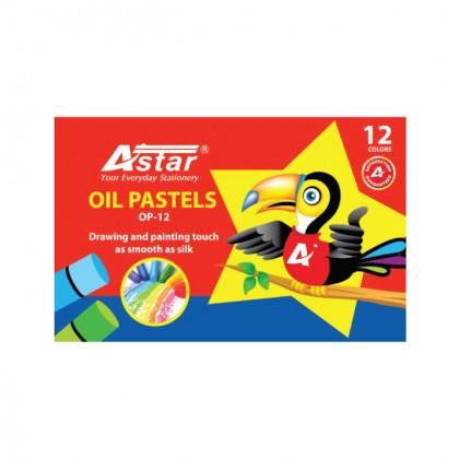 Astar Oil Pastels 12 Colors