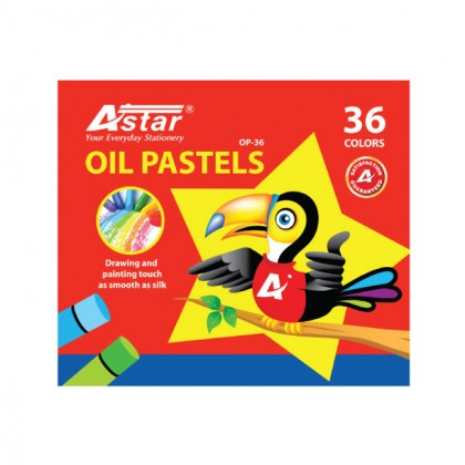 Astar Oil Pastels 36 Colors