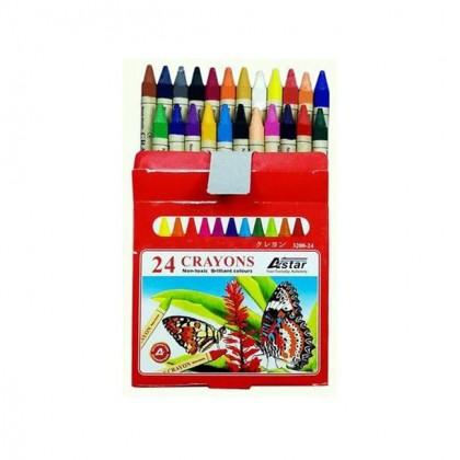 Astar Crayons 24 Colors