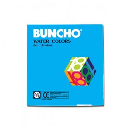 Buncho Water Colors 18 Colours (6cc)