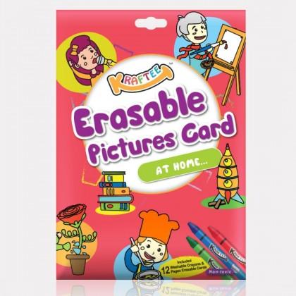 KRAFTEE Erasable Pictures Card